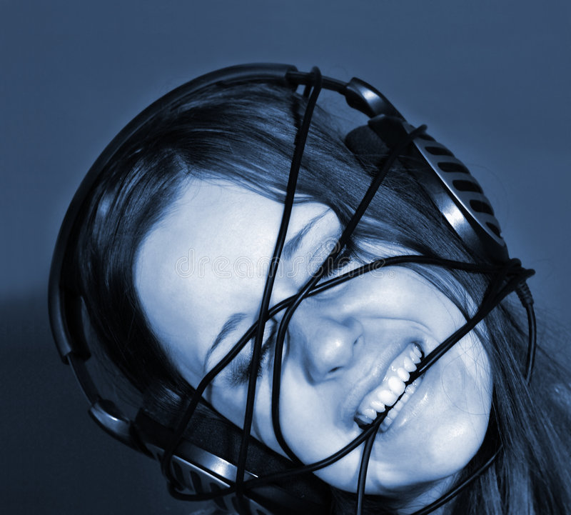 Download Blues. stock image. Image of inspiration, female, wire - 7672321