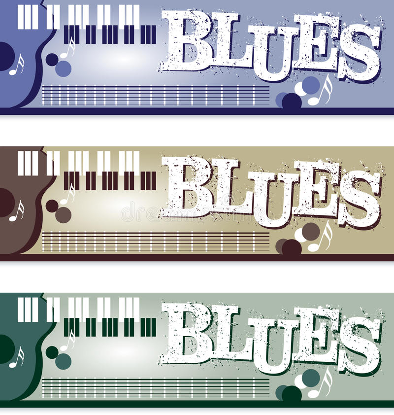 Free Blues Banners Royalty Free Stock Photography - 27284827