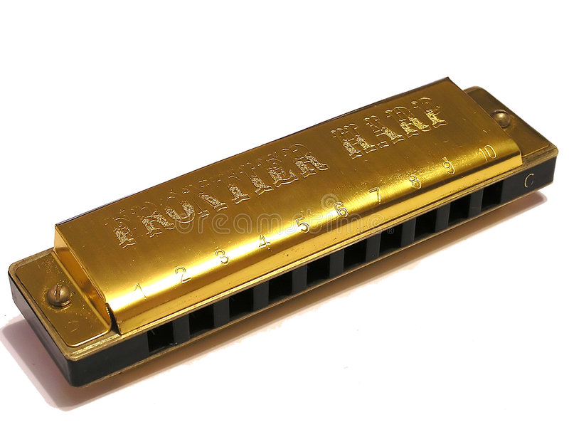 Blues Harp stock photos
