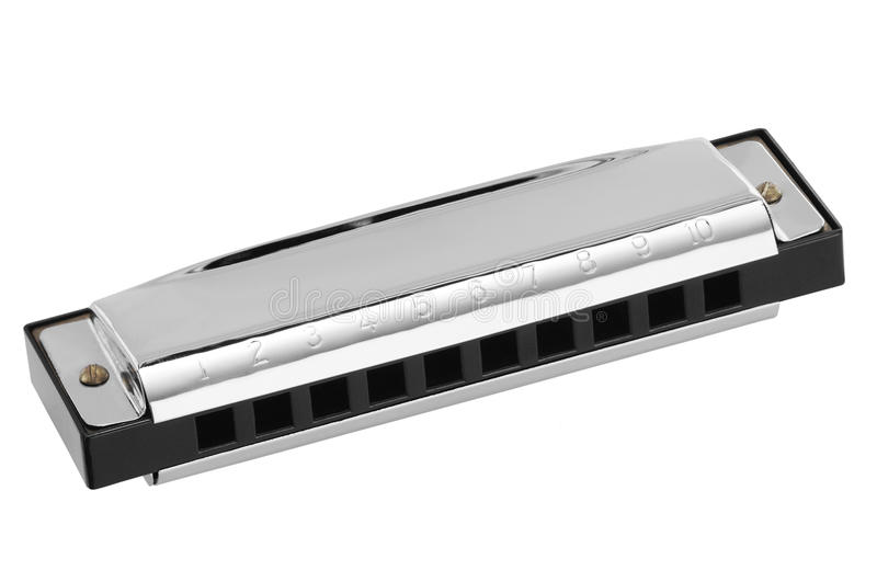 Blues Harp stock photo