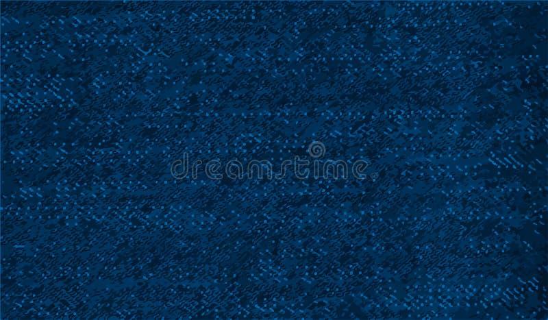 Blues-jean modelées abstraites illustration stock