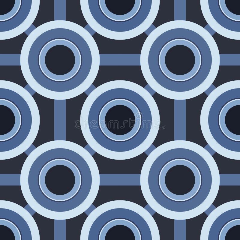 blues kręgów schematu zdjęcie stock