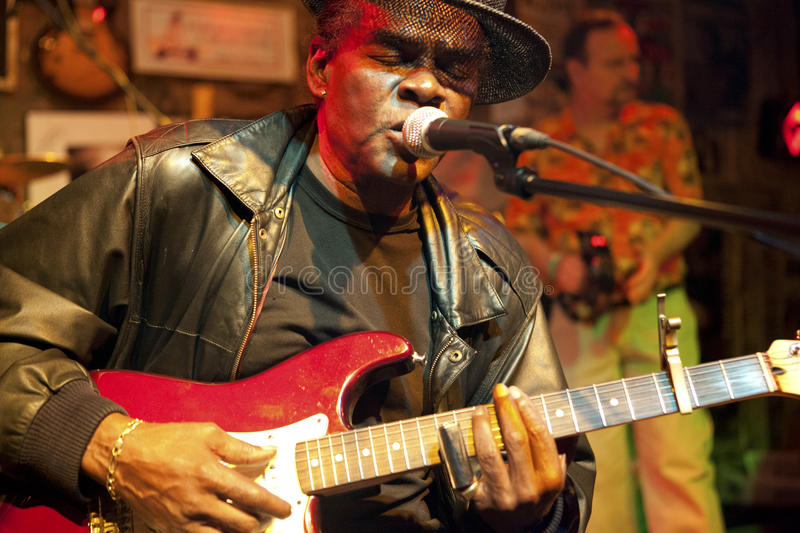 A blues musician, Mississippi royalty free stock photography