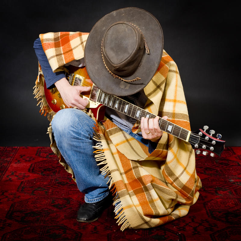 Blues rock royalty free stock image