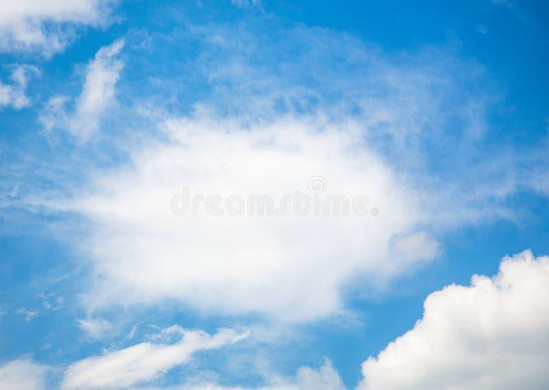 bluesky和云彩 免版税图库摄影