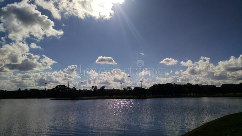 Bluesky immagine stock