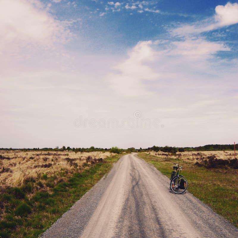 Bluesky Bike Life royalty free stock images