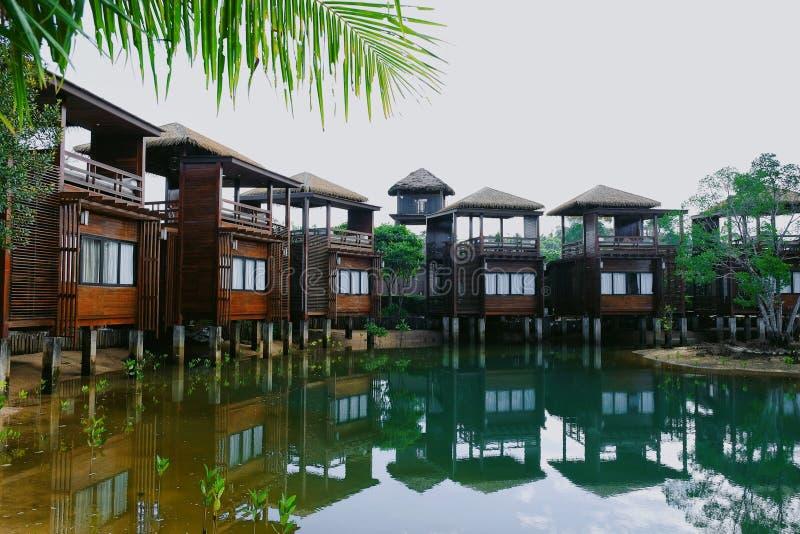 Bluesky resort royalty free stock photos