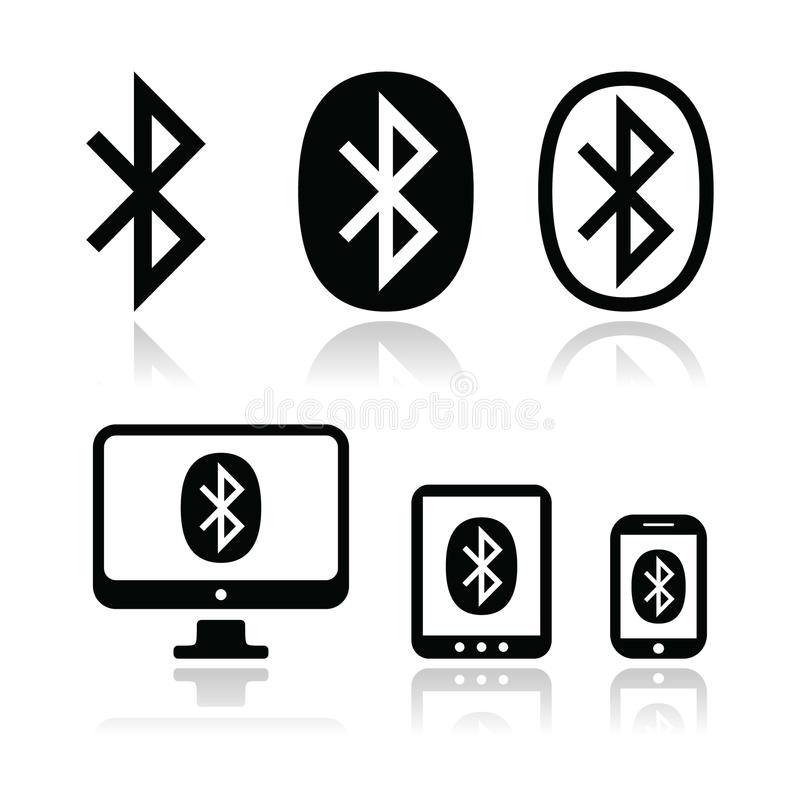 Download Bluetooth Connection Vector Icons Set Editorial Stock Photo - Image: 31890748