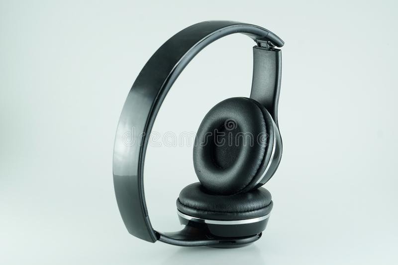Bluetooth headphone royaltyfria foton