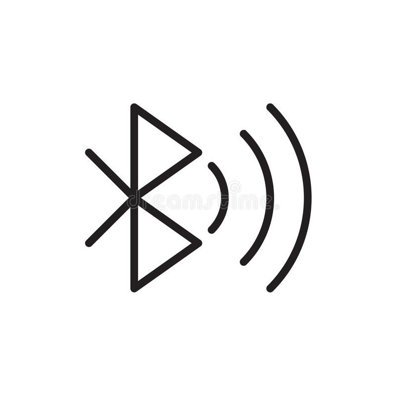 Bluetooth icon Vector illustration, EPS10. vector illustration