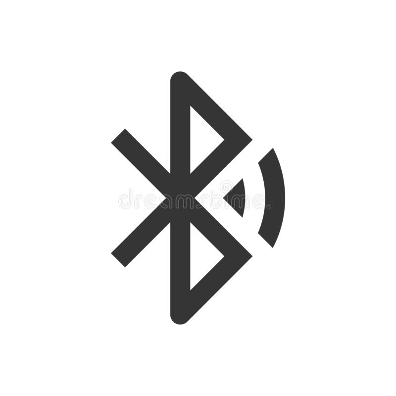Bluetooth icon - vector stock illustration