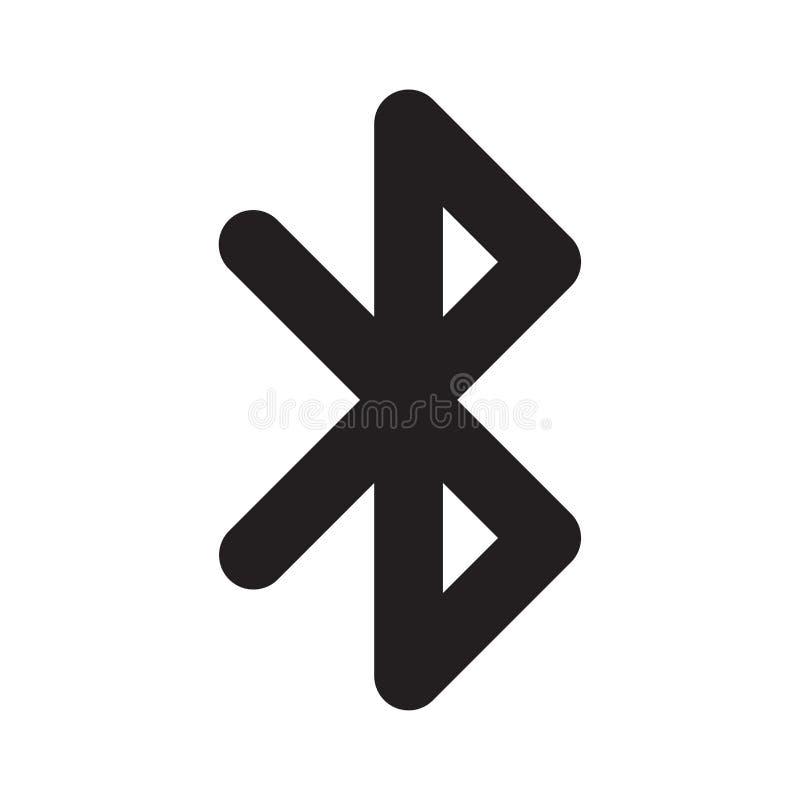 Bluetooth-Ikone lizenzfreie abbildung