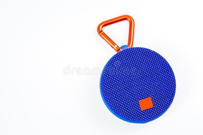 Bluetooth/speakeBluetooth senza fili/altoparlante senza fili nel bianco immagine stock