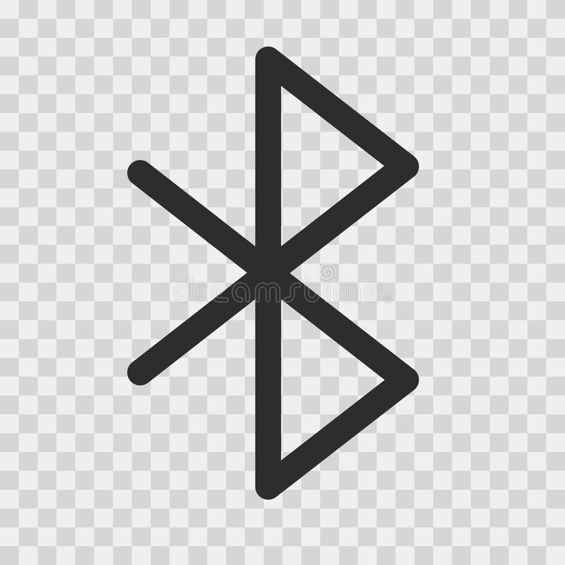 Bluetooth Vector Icon vector illustration