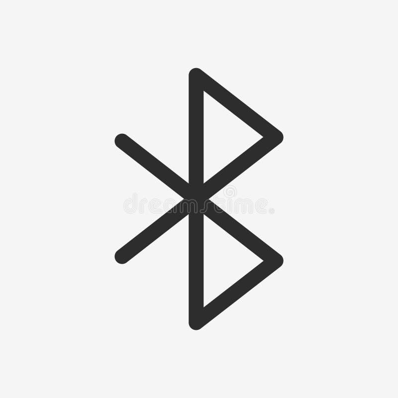 Bluetooth wektoru ikona obraz royalty free