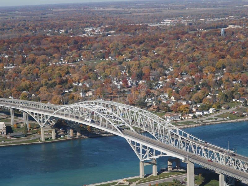 Bluewater bridge stock photos