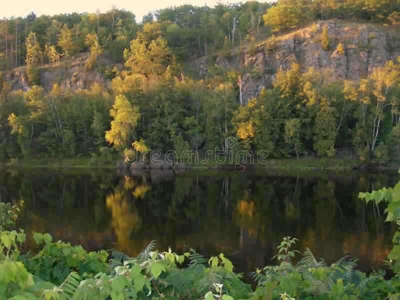 Bluff del Niagara fotografie stock