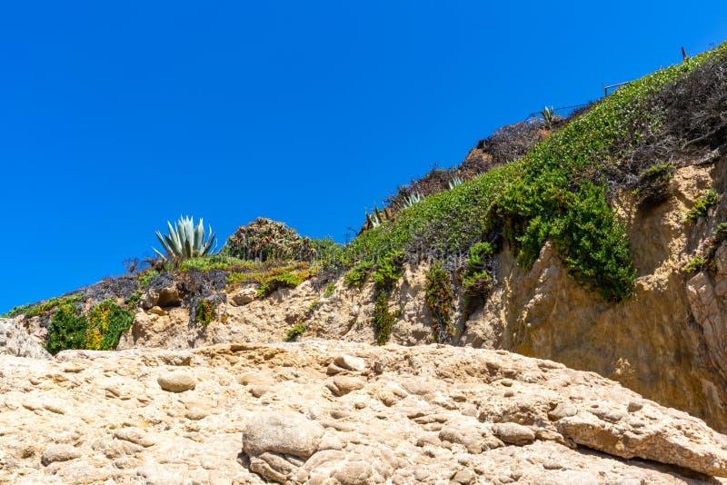 Bluff della spiaggia immagini stock libere da diritti
