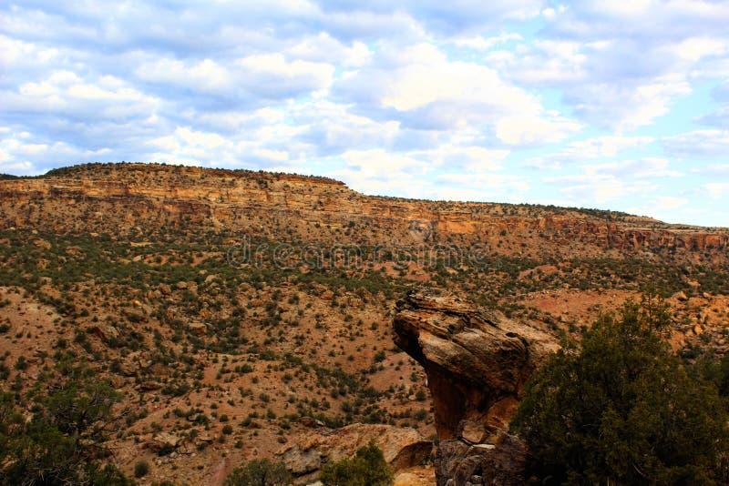 Bluffs de roche dans le Colorado photo stock