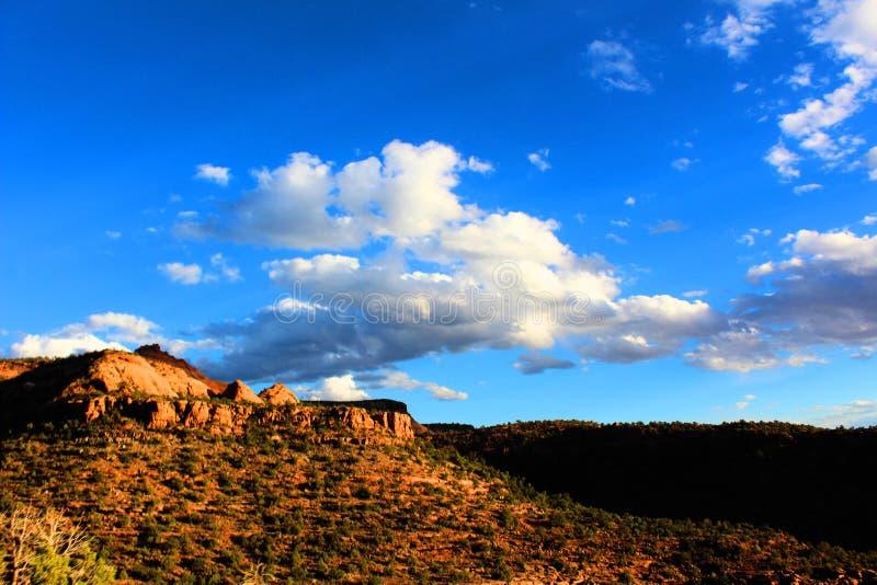 Bluffs de roche dans le Colorado image libre de droits