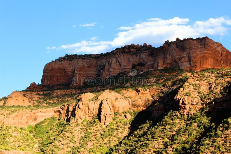 Bluffs de roche dans le Colorado photo libre de droits