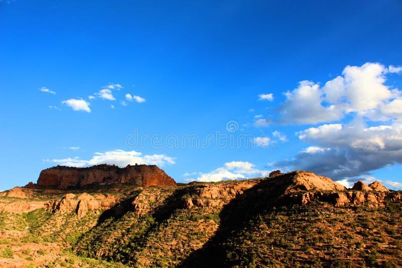 Bluffs de roche dans le Colorado image stock