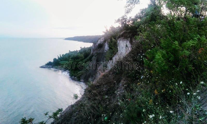Bluffs de Scarborough image stock