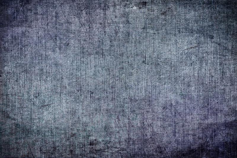 Cracked Grunge Dark Blue Grey Rusty Distorted Decay Old Abstract Canvas Painting Texture Pattern Autumn Background Wallpaper stock illustration