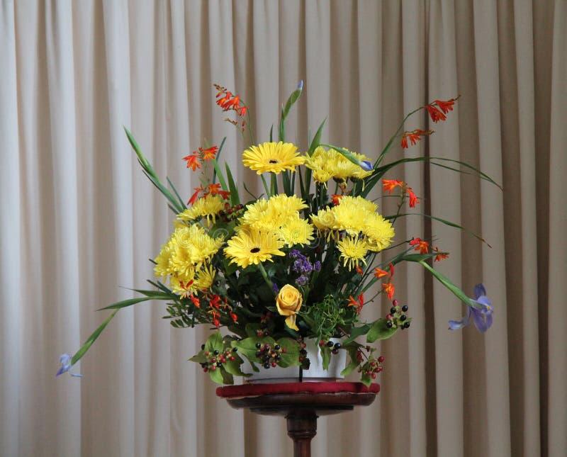 Blume arrangment stockfoto