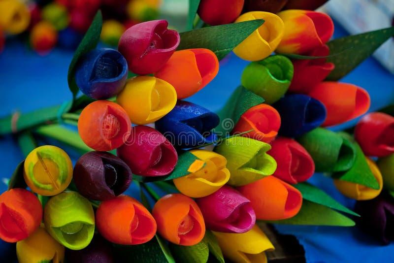 Blume-förmige Kerzenhalter stockfoto