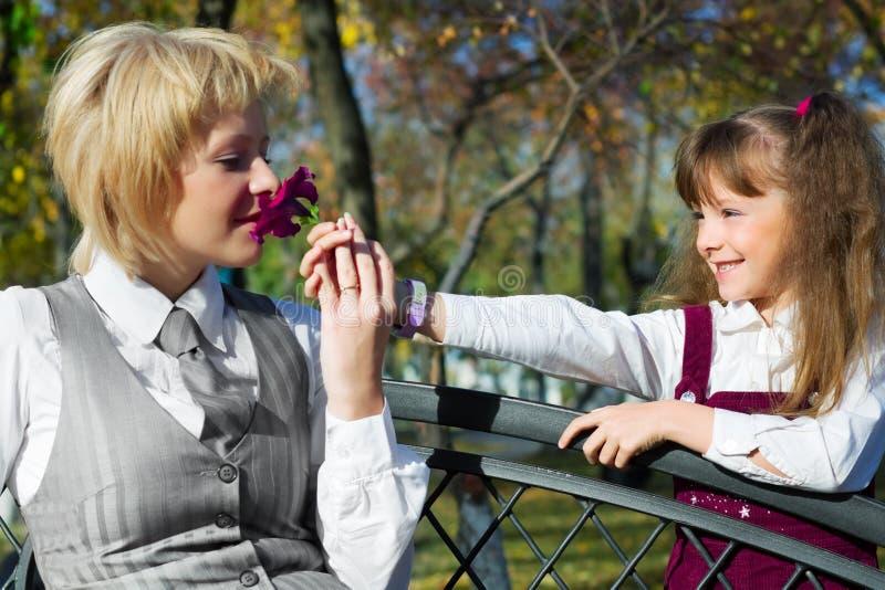 Blume für Mutter. lizenzfreies stockfoto