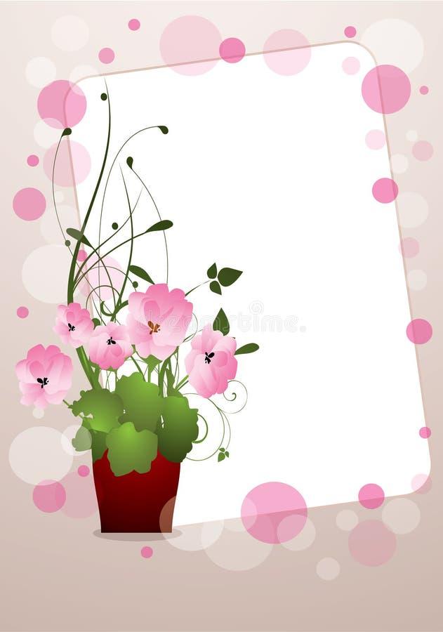 Blume im Potenziometer stock abbildung