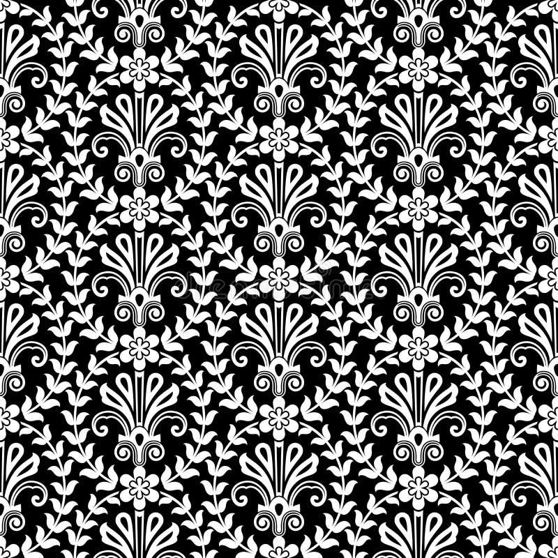 Blume schellt Muster lizenzfreie abbildung
