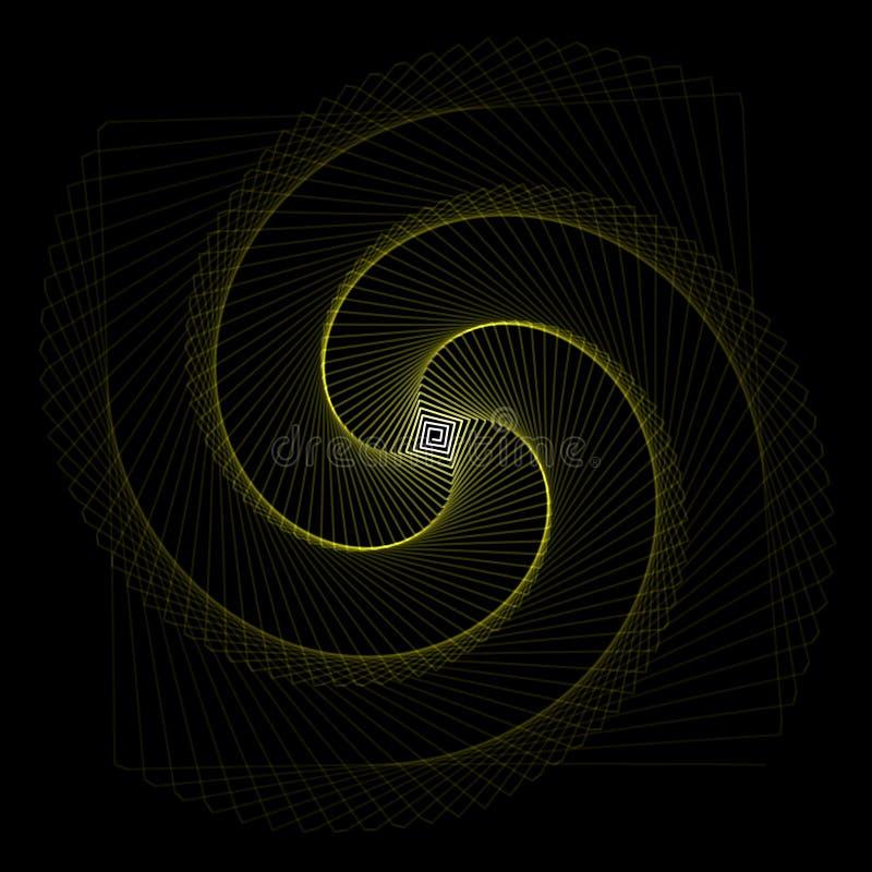 Blume Spirograph-Pendelfoto stockbild