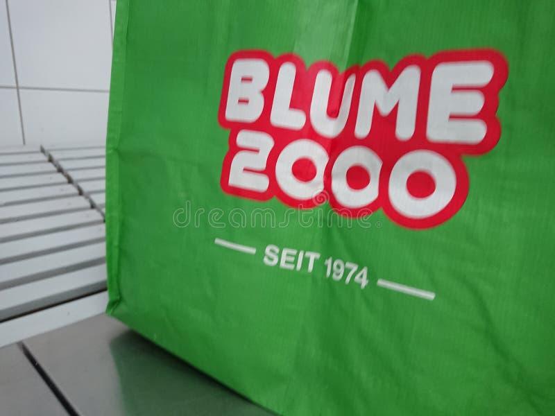 Blume 2000, tyskt företag arkivbild