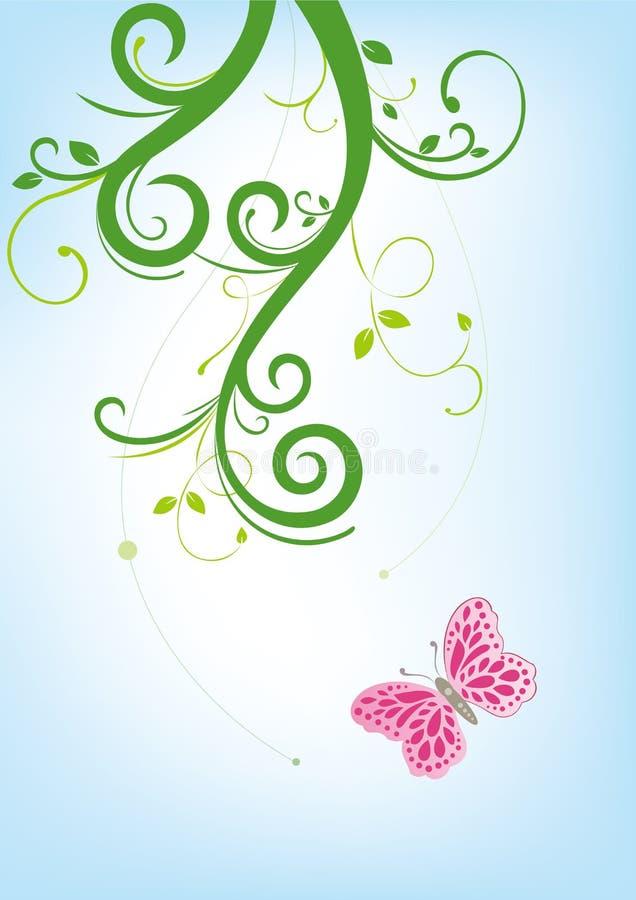 Blume und Basisrecheneinheit vektor abbildung