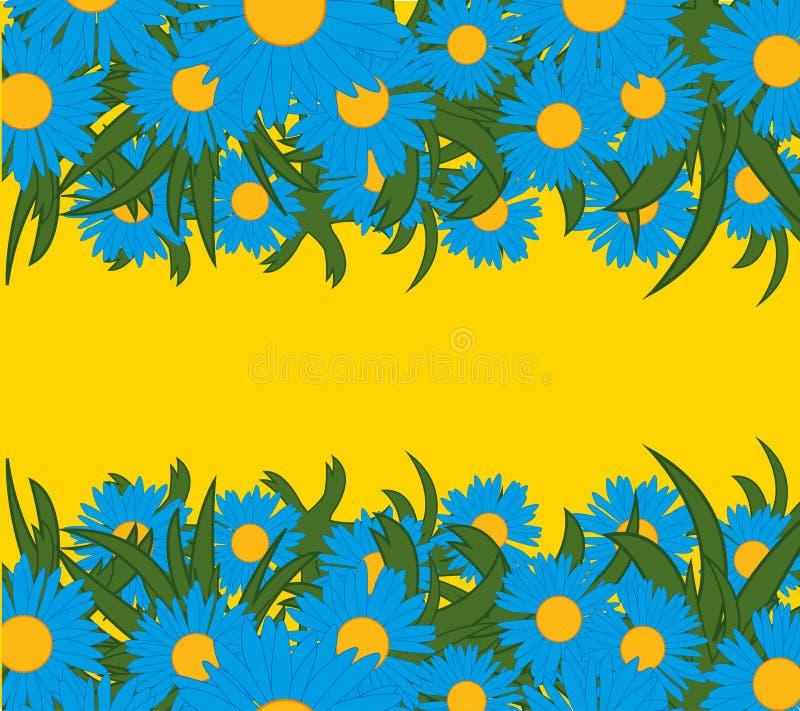 Blume und Kraut lizenzfreie abbildung