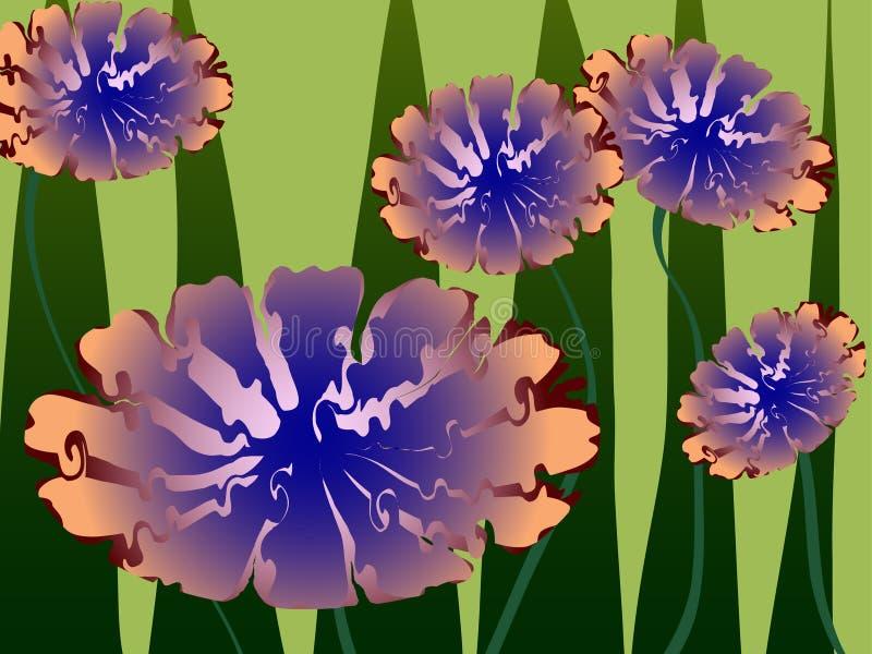 Blumenänderung am objektprogrammdetail stockfotografie