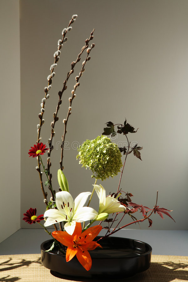 Blumen-Anordnung stockfotografie