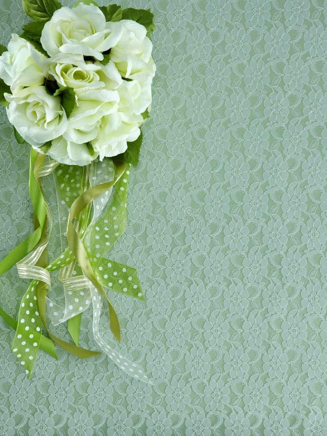 Blumen auf Gewebe stockfotografie