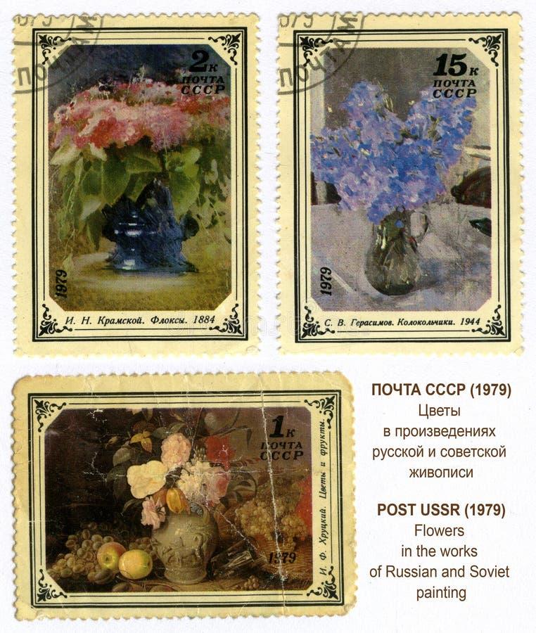 Download Blumen In Den Arbeiten Des Russischen Und Sowjetischen Paintin Redaktionelles Foto - Illustration von collect, schmieröl: 26361101