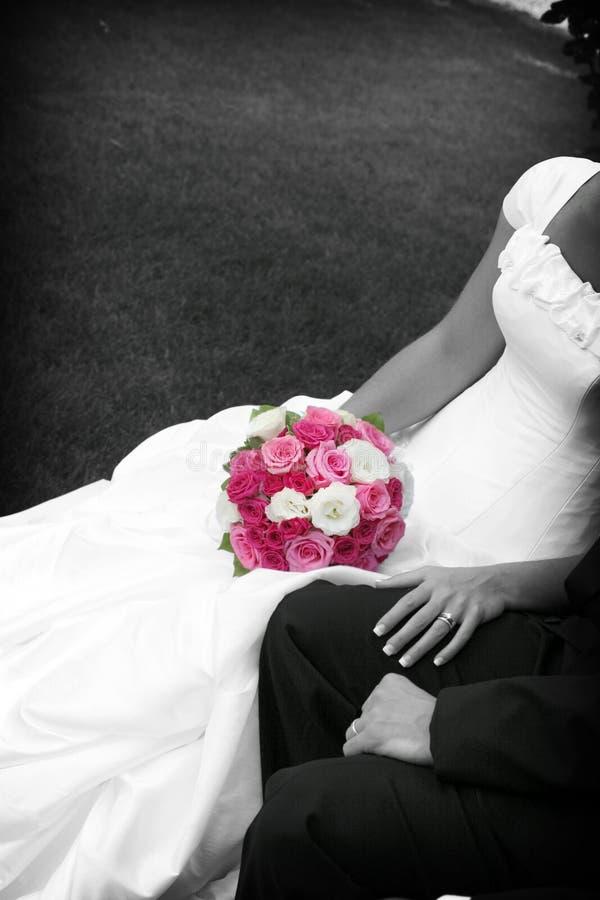 Download Blumen der Braut stockbild. Bild von braut, leute, mann - 207085