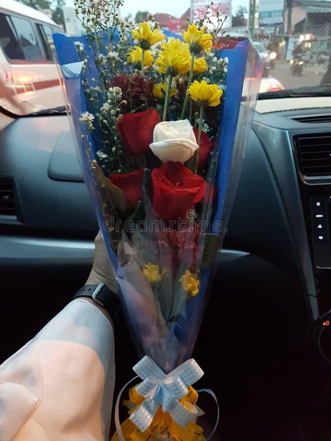 Blumen für die besten Liebhaber lizenzfreies stockbild