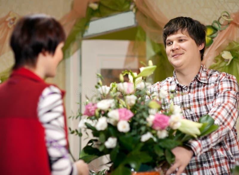 Blumen für Sie stockfotografie