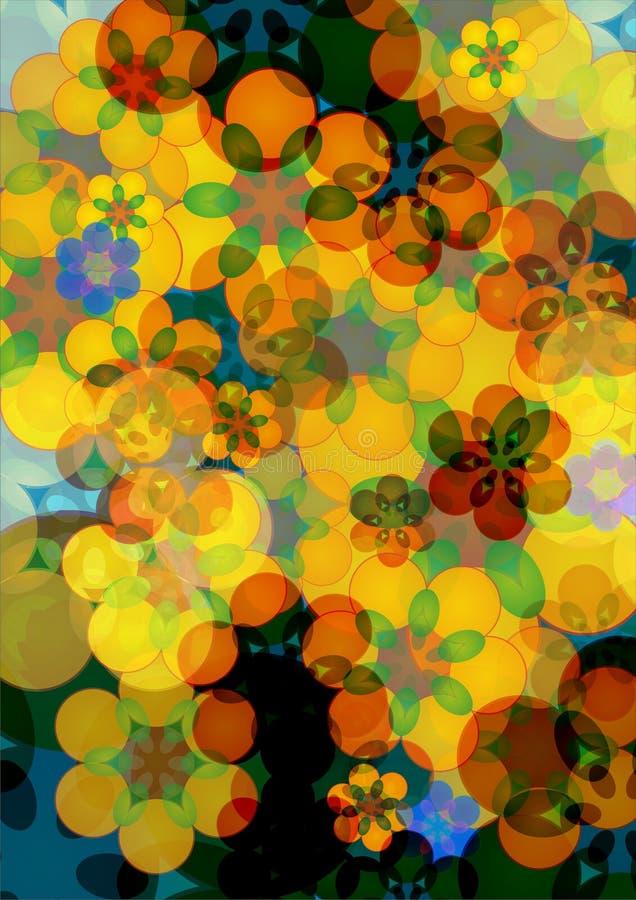Blumen-Hintergrund vektor abbildung