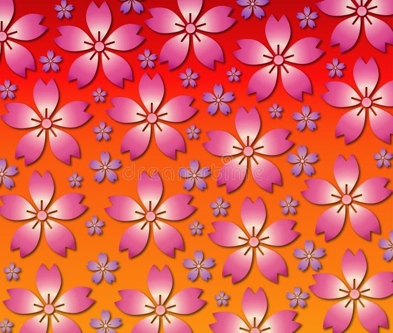 Blumen-Hintergrund stock abbildung