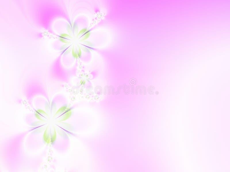 Blumen-Hochzeits-Einladung vektor abbildung