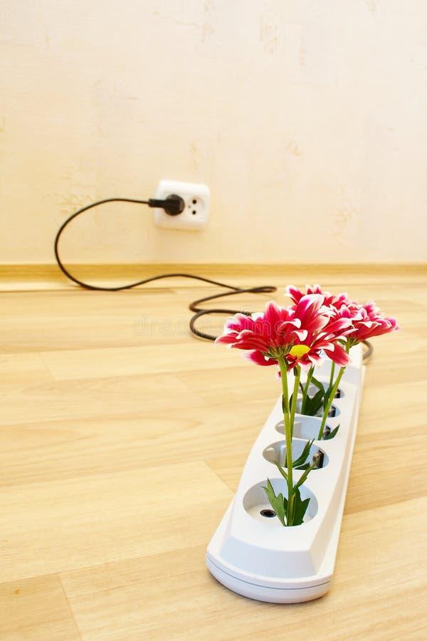 Blumen im Bolzen lizenzfreie stockbilder