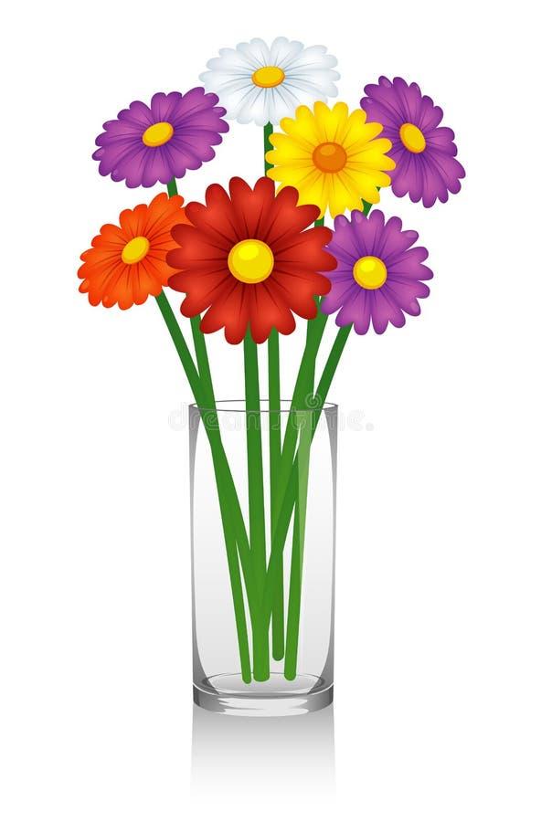 Vase Mit Blumen blumen im vase vektor abbildung illustration wachstum 26582720